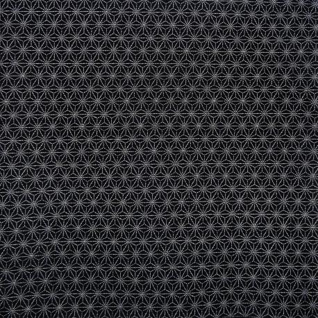 Tissu japonais 200 x 110 cm - Motifs Asanoha