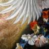 Iro-uchikake - Kimono de mariage - Motifs de grues et fleurs