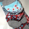 Japanese Tabi split toes socks - Size 39 to 43 - Maiko and great wave.