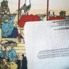 Furoshiki 50x50 - Le Pont Nihonbashi. Tissus et textile japonais