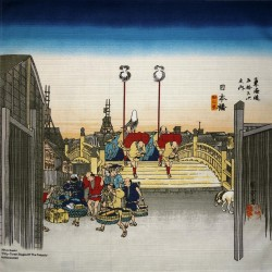 Furoshiki 50x50 - Le Pont Nihonbashi