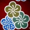 Furoshiki Japanese cloth 90x90 red - Ôume