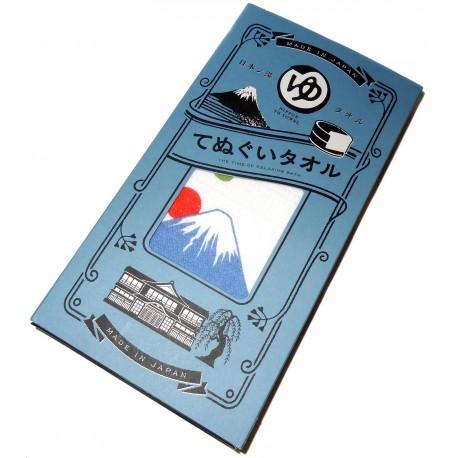 Serviette tenugui onsen 100 x 34 cm - Mont Fuji
