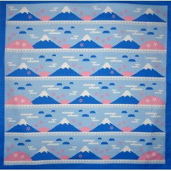 Furoshiki cloth 70x70 - Mount Fuji and Sakura