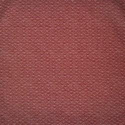 Carré de tissu 52 x 52 rouge brique - Motifs Seigaha