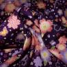 Japanese cloth 52x52 purple - Sakura Chô