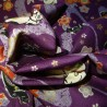 Japanese cloth 52x52 purple - ManekiNeko prints