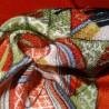 Furoshiki 67x67 - Red - Hime (princess) print. Japanese furishiki cloth online shop.
