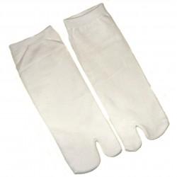 Chaussettes japonaises tabi blanches - Du 43 au 46