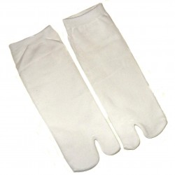 Tabi socks Size 39 to 43 - Solid white color