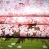 Japnaese Furoshiki cloth 50x50 - Shidarezakura. Reusable gift wrapping fabric.