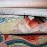 Tenugui Collection Ukiyoe - Hime. Tissus japonais traditionnels.