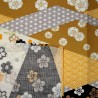Japanese cloth 52x52 Floral prints. Gift wrapping cloth.