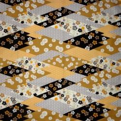 Carré de tissu 52 x 52 - Motifs floraux