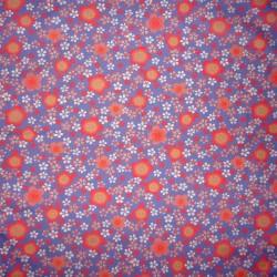 Carré de tissu 52 x 52 parme - Sakura