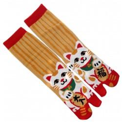 Chaussettes Tabi mi-mollet - Du 35 au 39 - Maneki Neko