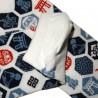Tabi Japanese  socks Size 39 to 43 - Nippon Kamon prints. Split toes flip flop socks.