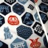 Chaussettes japonaise tabi - Du 39 au 43 - Motifs de Nippon Kamon. Chaussettes à orteils.