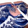 5-toes socks - Size 35 to 39 - Hokusaï's Great Wave. Japanese split toes socks