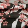 Tenugui Akita Collection - Shidarezakura print. Japanese decorative cloths and fabrics.
