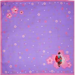 Furoshiki tissu lavande 50x50 - Maiko et Sakura