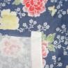 Serviette en gaze 90x34 cm - Motifs floraux. Tissus et textiles japonais
