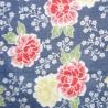 Gauze towel 90x34 cm - Floral prints. Japanese cloths and fabrics