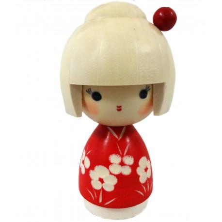 Kokeshi doll - Stroll. Japanese wooden dolls