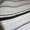 Jinbei Japanese summer tunic garment 78 white - LL size - Cotton and Linen