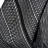 Jinbei Tunique vêtement japonaise d'été - noir - Taille M - Coton et Lin