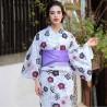 Women's Yukata - Set 350. Japanese summer kimono.