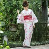 Women's Yukata - Set 352 - High quality. Japanese summer kimono.