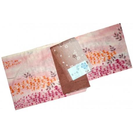Yukata femme - Set 349 - Qualité supérieure. kimono japonais d'été en coton
