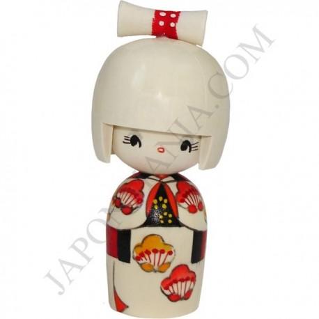 Kokeshi Doll 22 - Hanagumori